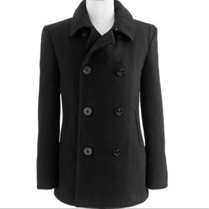 J Crew Thinsalate Double Breasted Pea Coat Jacket